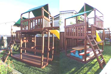 Custom Plan It Play Swing Sets